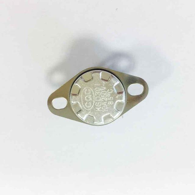 غاز سخان المياه أجزاء محفظة 5pcs المياه KSD301 غاز سخان ترموستات تحكم، المنبثقة الحرارة صمام 0-85 درجة CQC شهادة