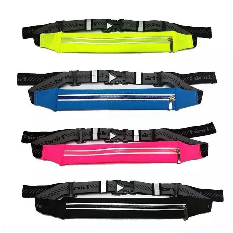 Outdoor sports running running riding hanging close-fitting small waist bag multifunctional invisible anti-theft waist bag