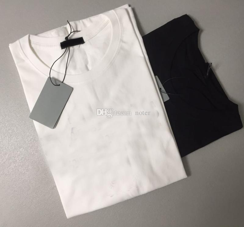 Patrón de la bandera del Mens las camisetas para hombre del algodón Anti-Pilling delgado apto de las camisas de los hombres T transpirable 100% algodón ocasional de los hombres T-shirts Tops S-3XL