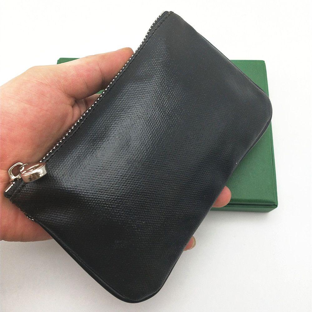 FRANCIA STYLE UOMO DONNA DONNA POCHETTE Fashion Coin Borsa Portata portata portachiavi tasto piccolo mini borsa frizione borse borse con scatola