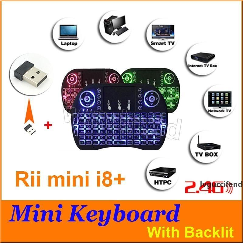 Game Mini Keyboard Wireless I8 I8 Fly Air Mouse Multi-Media Remote Control Touchpad Handheld For TV BOX Android Mini PC Pad 3 colors change