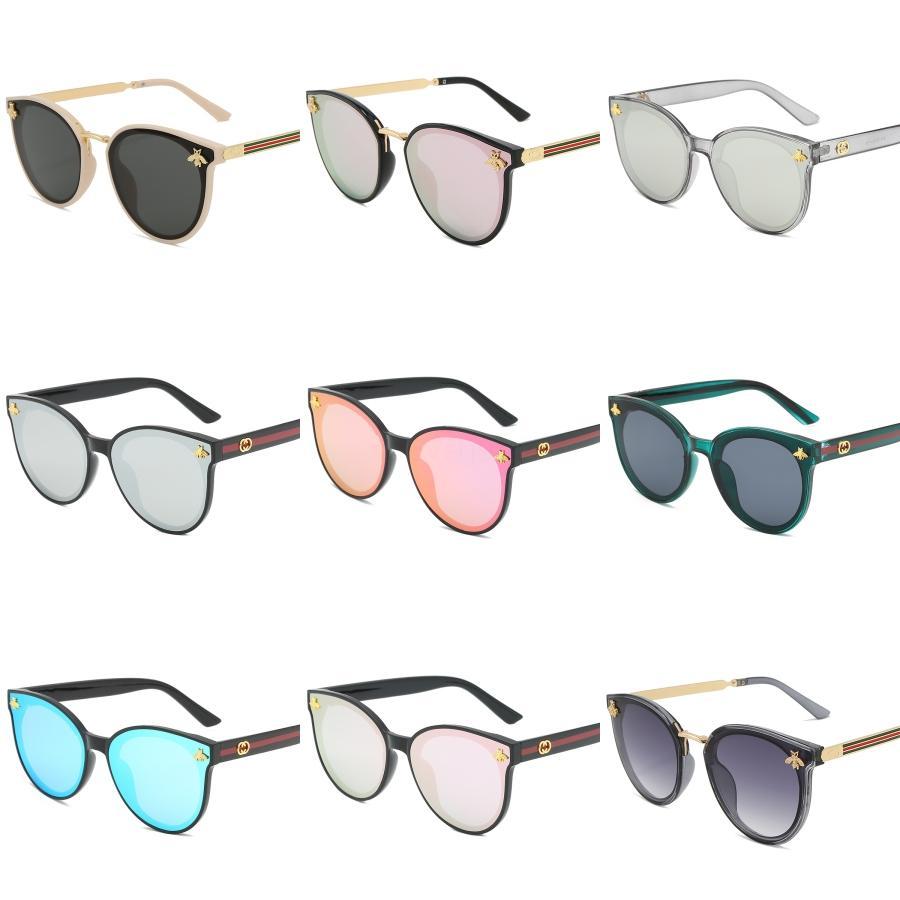Di vendita caldo mette in mostra della bicicletta di vetro 11 Colori grandi occhiali da sole Sport Ciclismo Occhiali da sole Moda Dazzle Colore Mirrors # 828