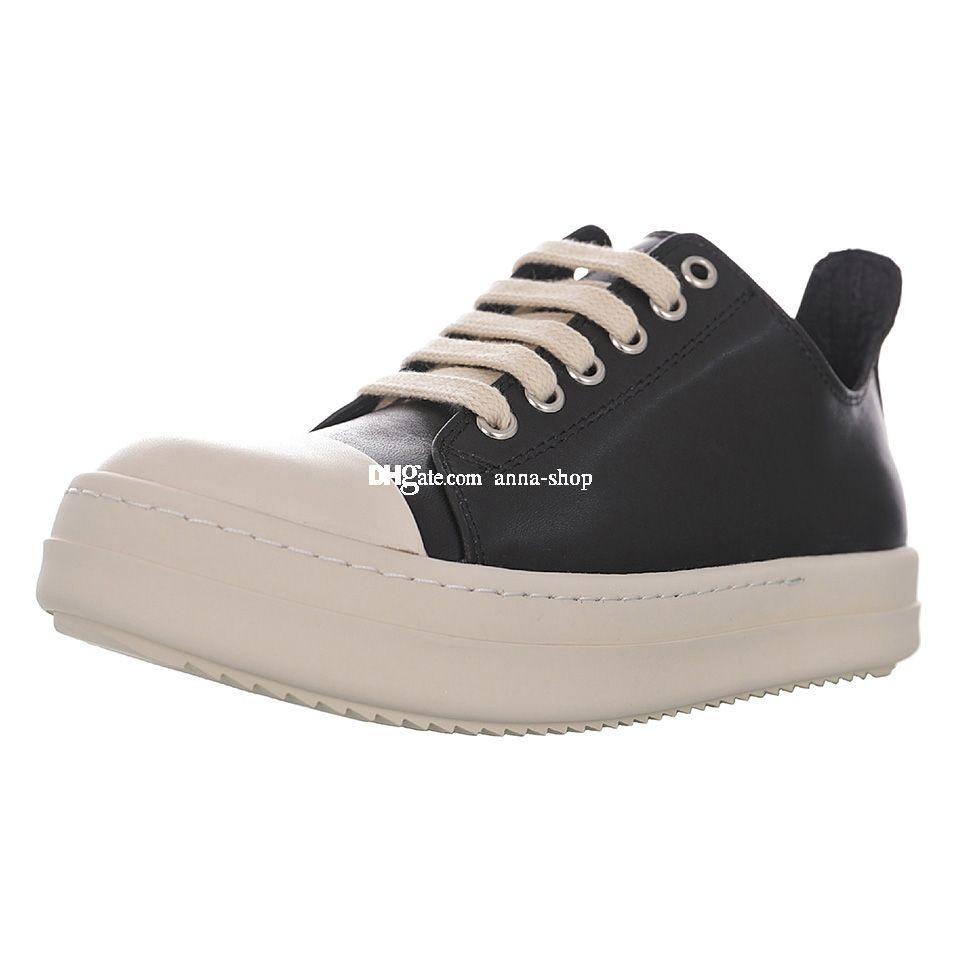 DARKSHDW Scarpe Sneaker bassa per il lusso degli uomini di scarpe da tennis Mens Pattini scarpe da skate del pattino delle donne delle donne della tela di canapa Skateboard maschile casual in pelle