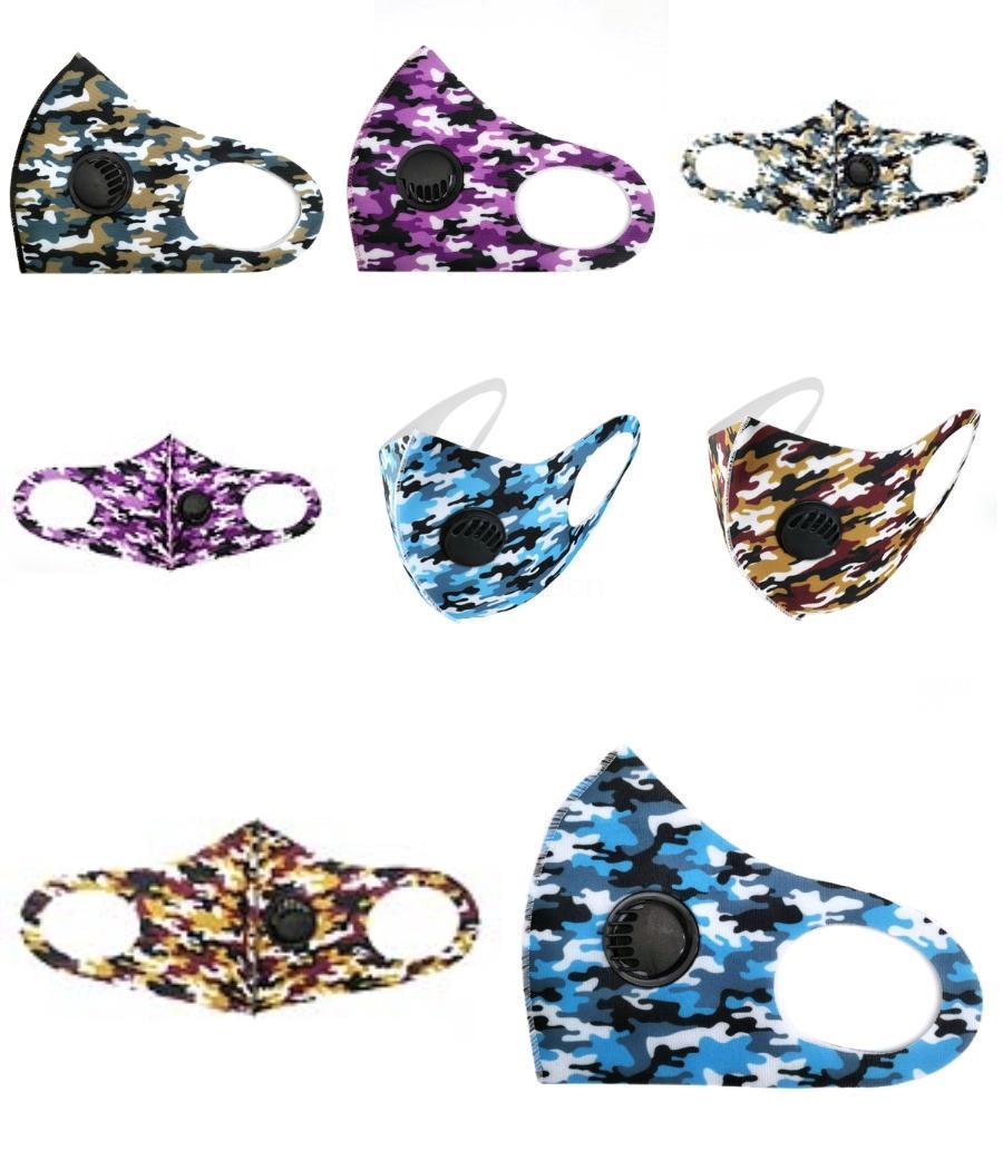 Designer stampata delle donne seta sciarpa magica maschera viso 14 stili chiffon Fazzoletto antivento esterna di fronte mezzo antipolvere Parasole Ma # 789 # 3 # 680