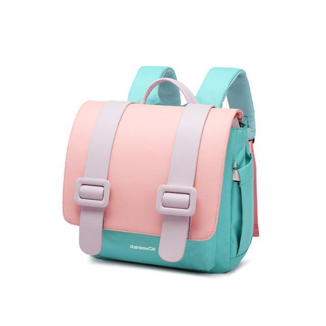 Gepäck Schulranzen Rainbow Girl Rosa Wasserdicht Mochila Infantil 1-3-6 Jahre Schultaschen für Mädchen New Kids Bag