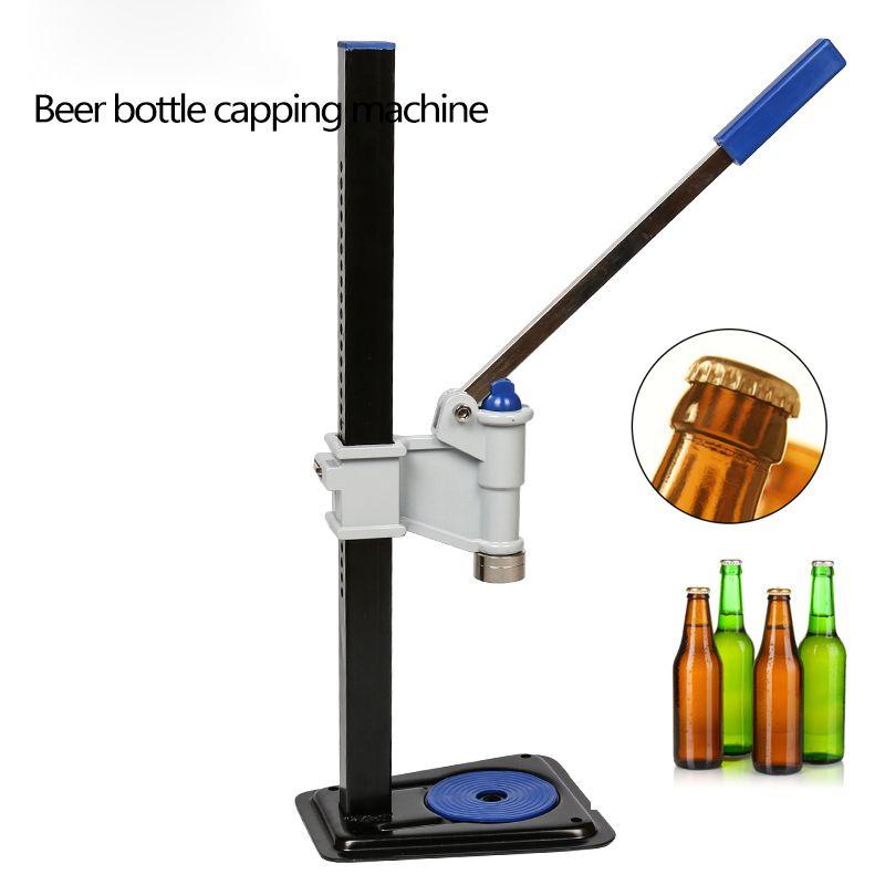 Garrafa de cerveja Capping Máquina Manual Beer Tampa Vedação Capper Soda Água Capper