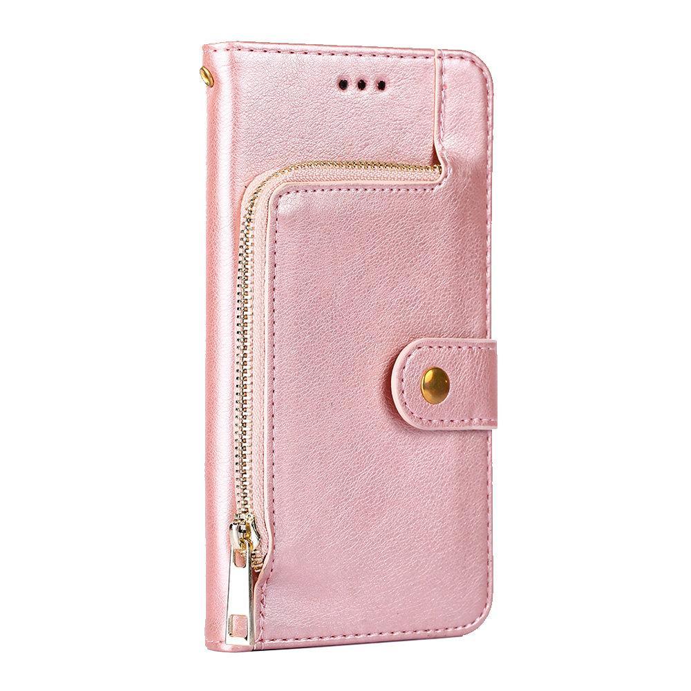 Для OnePlus 8 7T 7 7Pro 6T 6 5Т 5 Многофункциональный Zipper личи кожаный бумажник телефон крышки случая