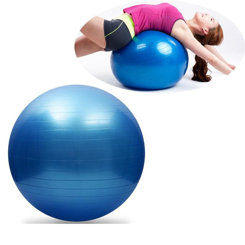 Durable Yoga Ball 45Cm 55Cm 65Cm 75Cm Yoga Pilates Fitness Sports Balls Balance Exercise Fitball For Women Girls Massage Ball ryPpp