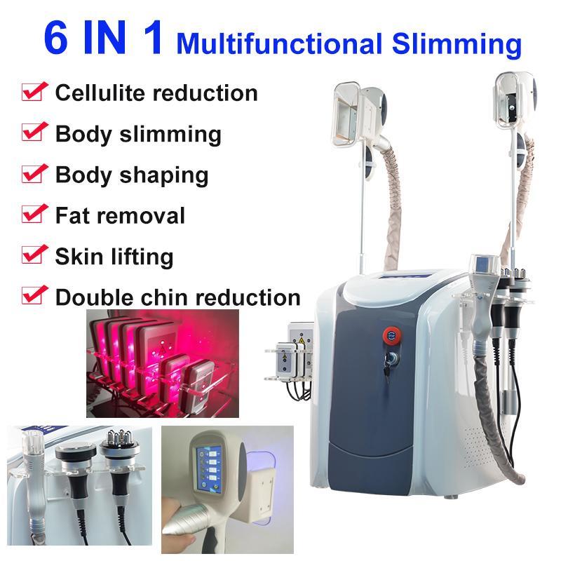 Cryolipolysis la machine gel de graisse LipoLaser usage personnel cryothérapie laser lipo machine de beauté de RF cavitation par ultrasons