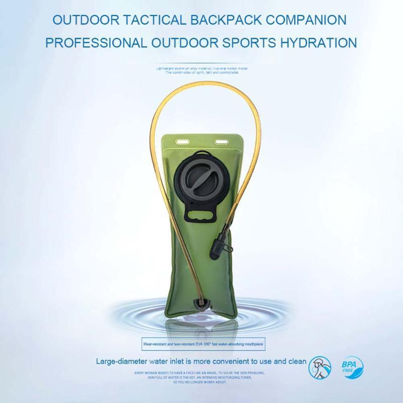 Tragbare Jagd Camping-Wasser-Beutel-faltbare Kunststoff zusammenklappbarer Klettern das Klettern Grün Blau-Wasser-Beutel