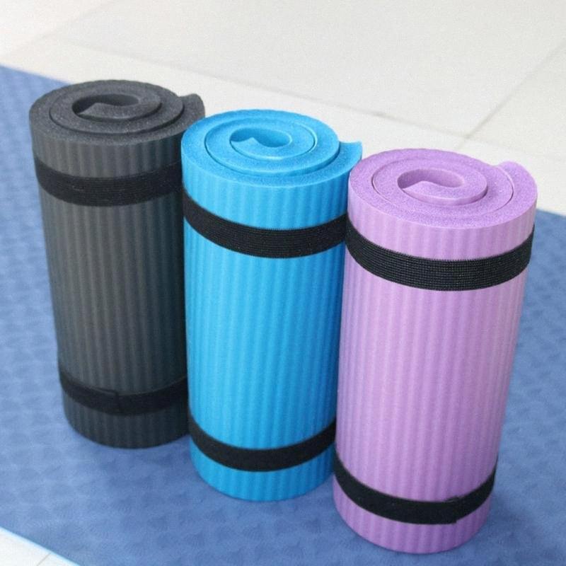60x25x1.5cm Karın Tekerlek Pad Düz Destek Dirsek Pad Yoga Yardımcı Spor Jimnastik Minderleri Katlanabilir yatak Spor Mat IxmW #