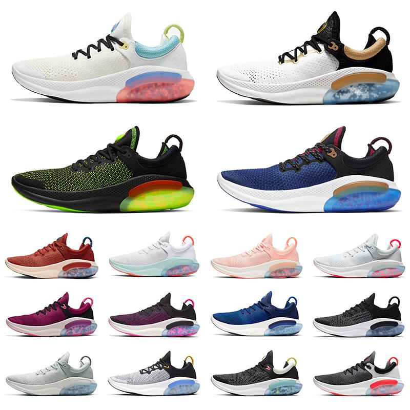 nike joyride run fk hombre mujer zapatos para correr Platinum Tint University Red Racer Blue Core Black Fashion mujer entrenador de hombre athletic sport sneaker 36-45