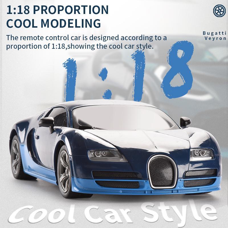 1:18 Super RC игрушечный автомобиль автомобиль высокоскоростной сплав дрейфующий гоночный спортивный ребенок модель 4WD управление автомобилем дистанционные игрушки 2.4G аккумуляторная KUHGW