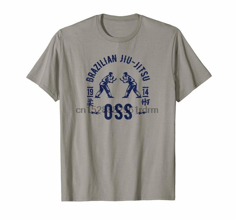Ropa Jiu Jitsu camiseta Arte Suave Oss camisas BJJ camiseta 9085