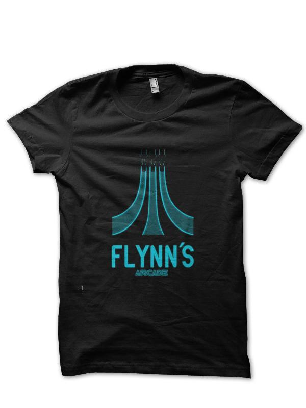 Arcade manches demi T-shirt de Flynn