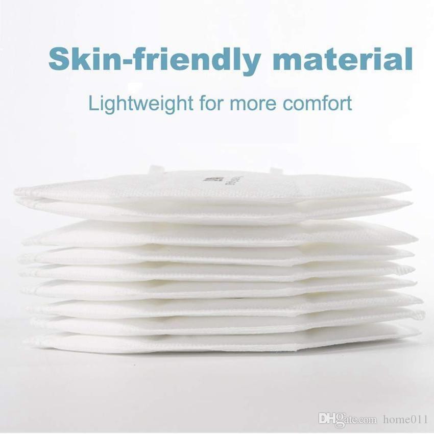 Hochwertiger kostenloser Versand Einweg-KN95-Masken-Mundkappen-Tuch-Masken KN95-Gesichtsmaske Einweg-Gesicht-Mund-Masken mit Filtermasken Baumwolle