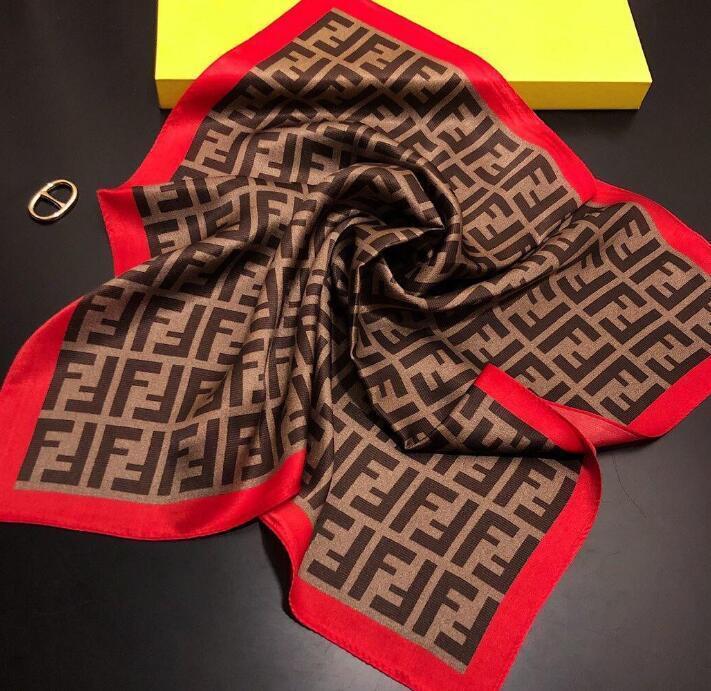 Frühling und Sommer 2020 Designer Seidenschal Mode für Männer und vier Frauen Jahreszeit Schal Schal Marke Schal