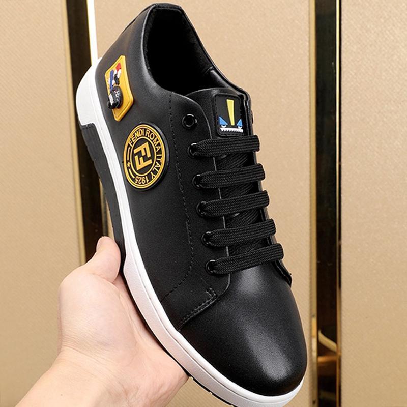 Zapatos para hombre de alta calidad con la caja de la vendimia Origen cómodo caminar al aire libre Calzado deportivo top del punto bajo de encaje -Up Casual Zapatos Hombres Manner Schuhe