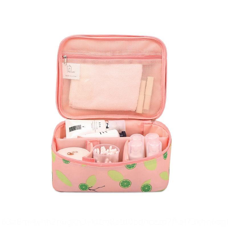 Nouveau stockage coréen lavage portable multifonctionnel de grande capacité sac de maquillage pratique sac de rangement étanche