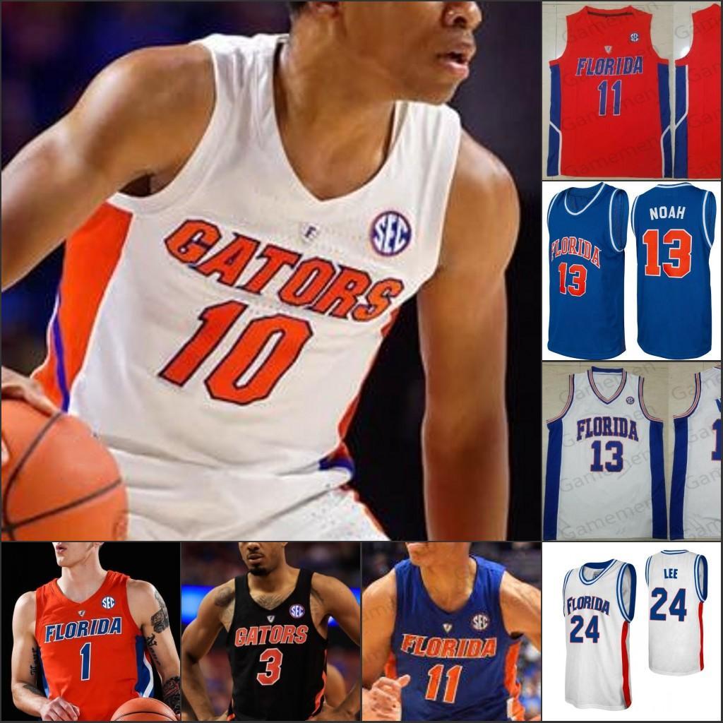 Пользовательские Флорида Аллигаторы Статистика Баскетбол сшитые Джерси NCAA College любое имя номер Омар Payne Эндрю Nembhard Скотти Льюис Tre Mann