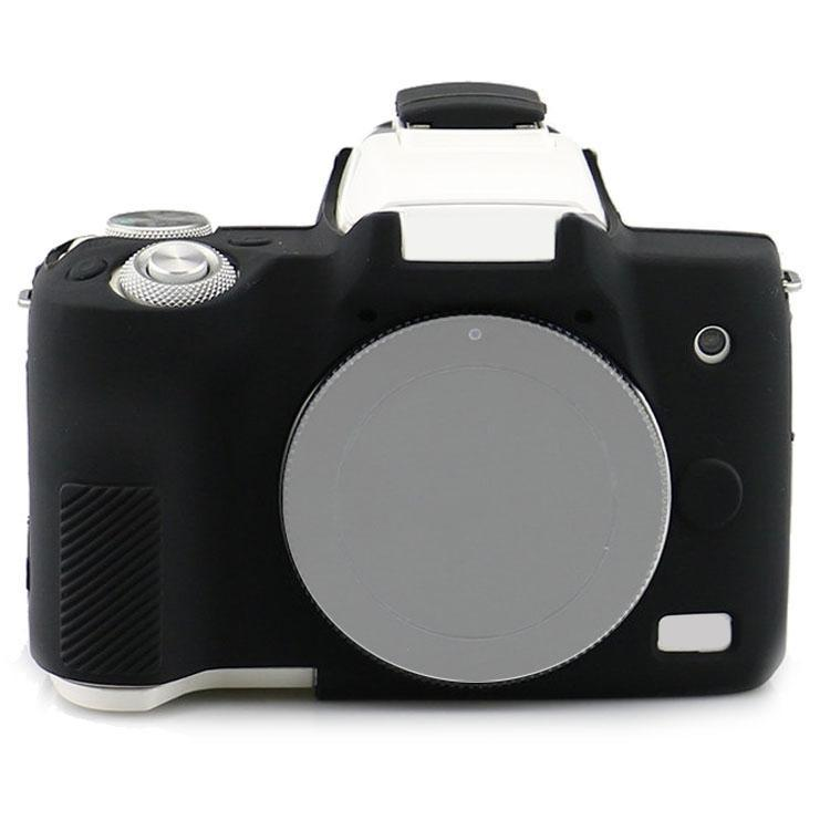 Richwell silicone Armatura della pelle di caso della copertura del corpo Protector per Canon EOS M50 Digital corpo