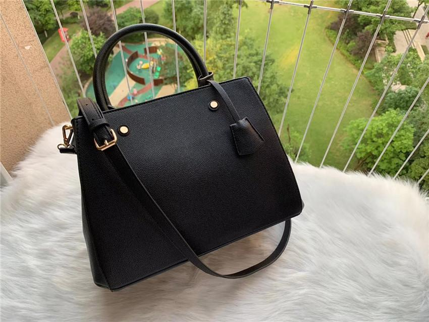 2021 Hot Designer Luxus Satchel Messenger Handtasche Leder Strim Griffe mit Schultergurt Crossbody Bag French Bag N41056