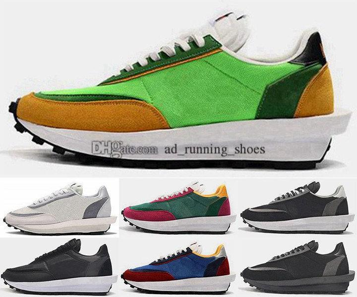 eur 35 bize 12 Sacai kadınlar erkekleri Daybreak Sneakers boyutu 5 ayakkabı tasarımcısı LVD Waffle eğitmenler mens çalışan 46 spor beyaz büyük bir çocuk çocuklar yarışçısı