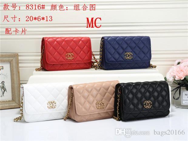 2020 novo F316 Melhor preço de alta qualidade mulheres únicas senhoras bolsa tote ombro mochila bolsa carteira