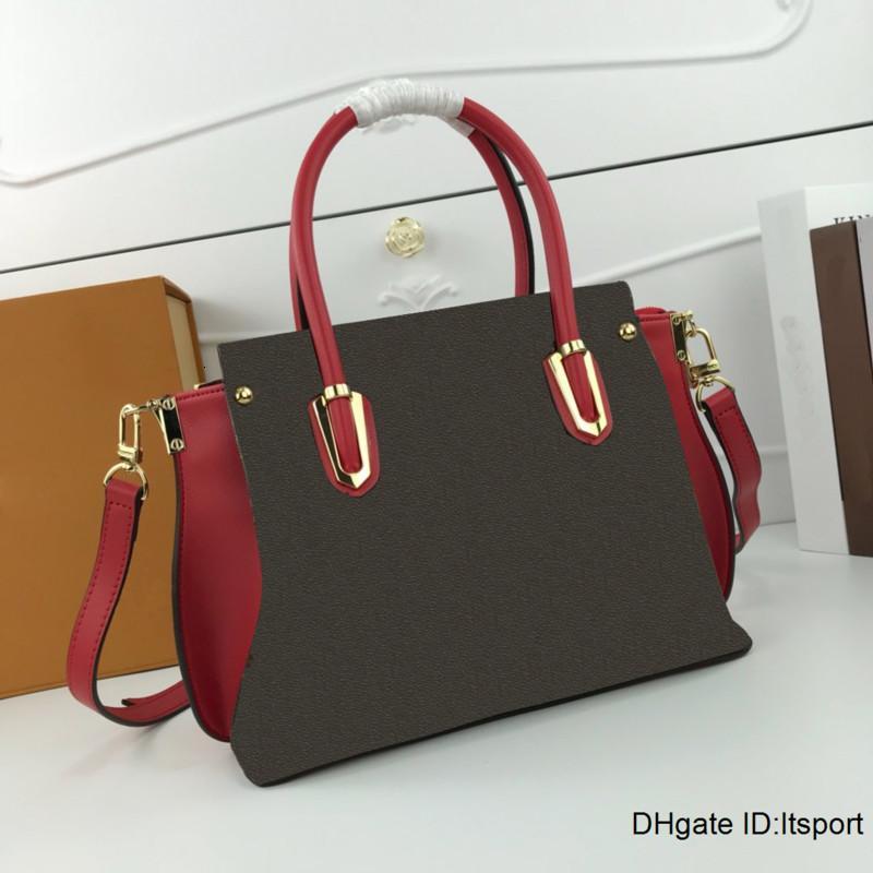 High quality hot sales Fashion brand luxury shoulder bag designer handbags monogram calfskin bag free shipping