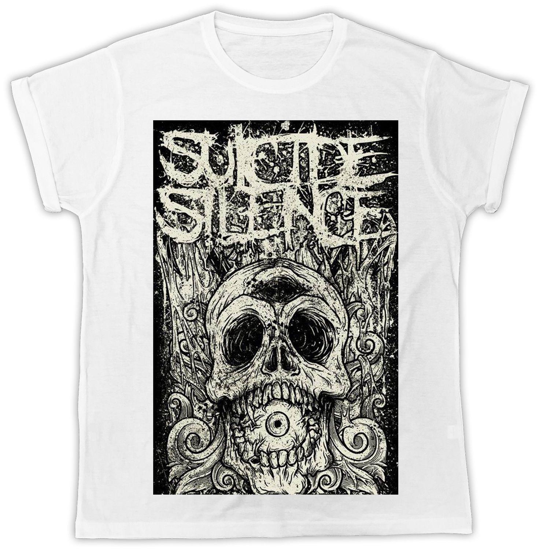 SUICIDE SILENCE ZYKLOPE DEATHCORE Mitch Lucker ANIMOSITY RETRO Herren T-Shirt