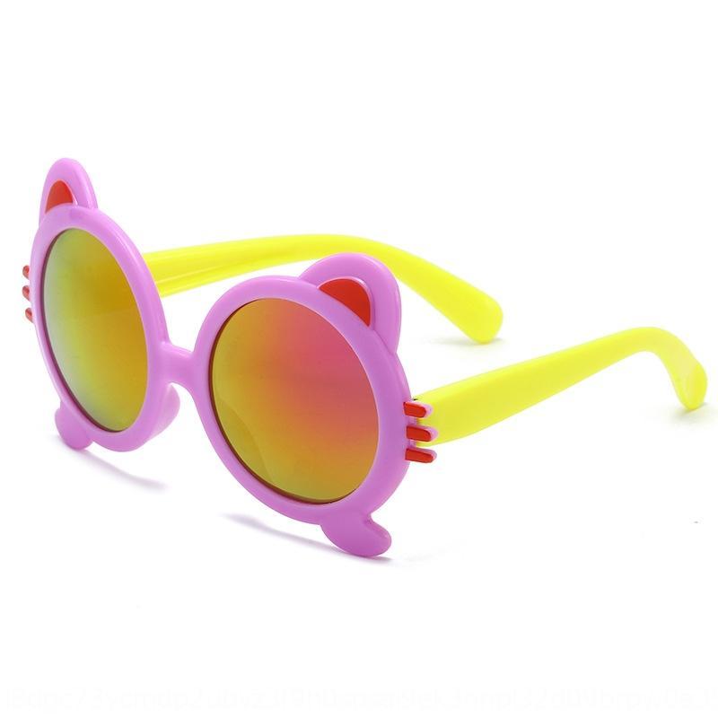 reflexivo sol colorido moda sol sol unissex infantil de Nova Urso crianças óculos óculos bebê colorido fresco