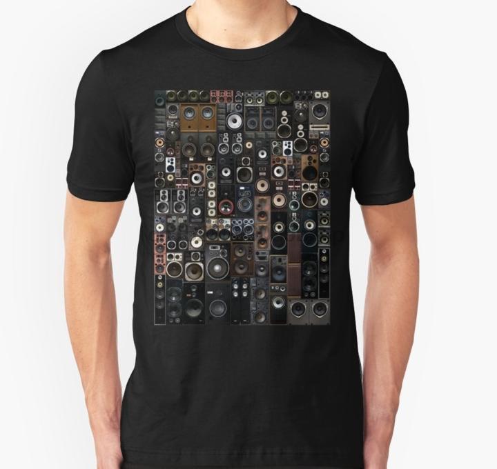 Erkekler kısa kollu tişört Hoparlörler Unisex Tişörtlü Kadınlar tshirt