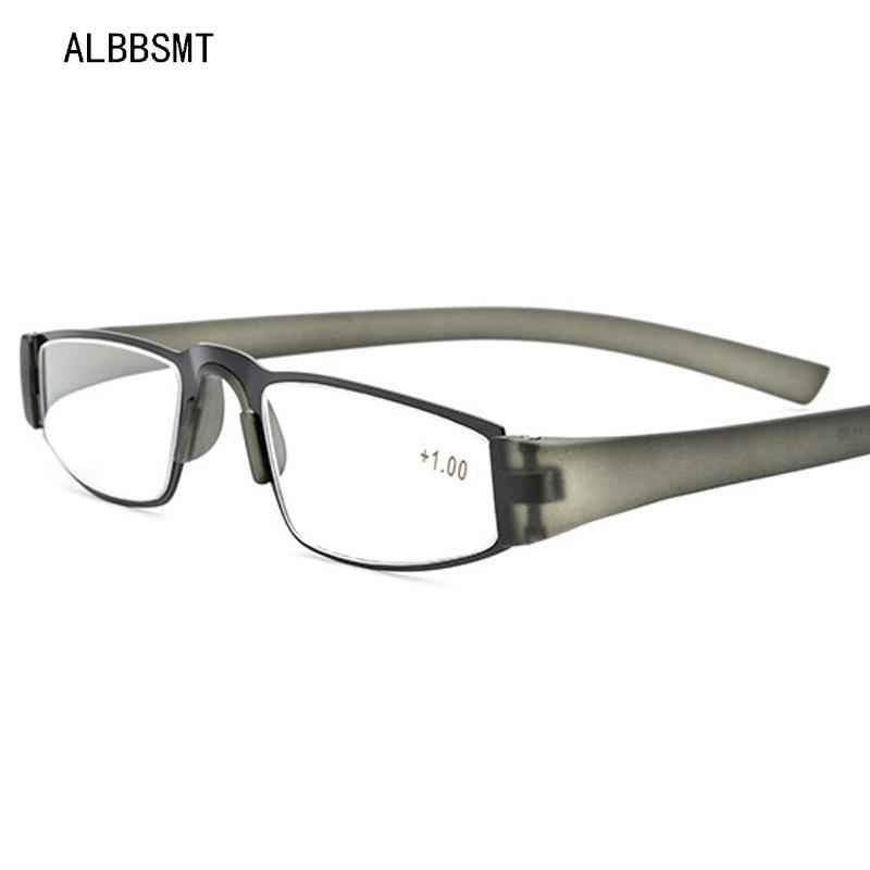 نظارات القراءة المرأة المتانة TR90 خفيف جدا الراتنج قصر النظر بصري مادة القراءة طويل النظر نظارات للجنسين