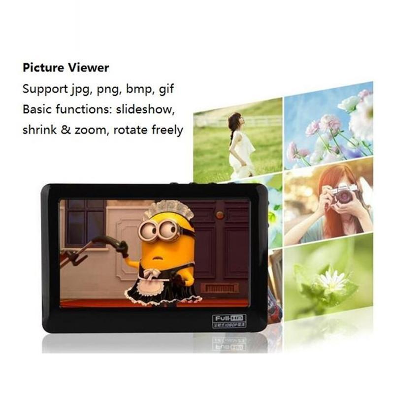 Freeshipping касания HD MP4 видео плеер 8gb Встроенный динамик 4,3-дюймовый экран MP4-плеер Поддержка AV Out Recorder 30 Языки MP5 Music Player