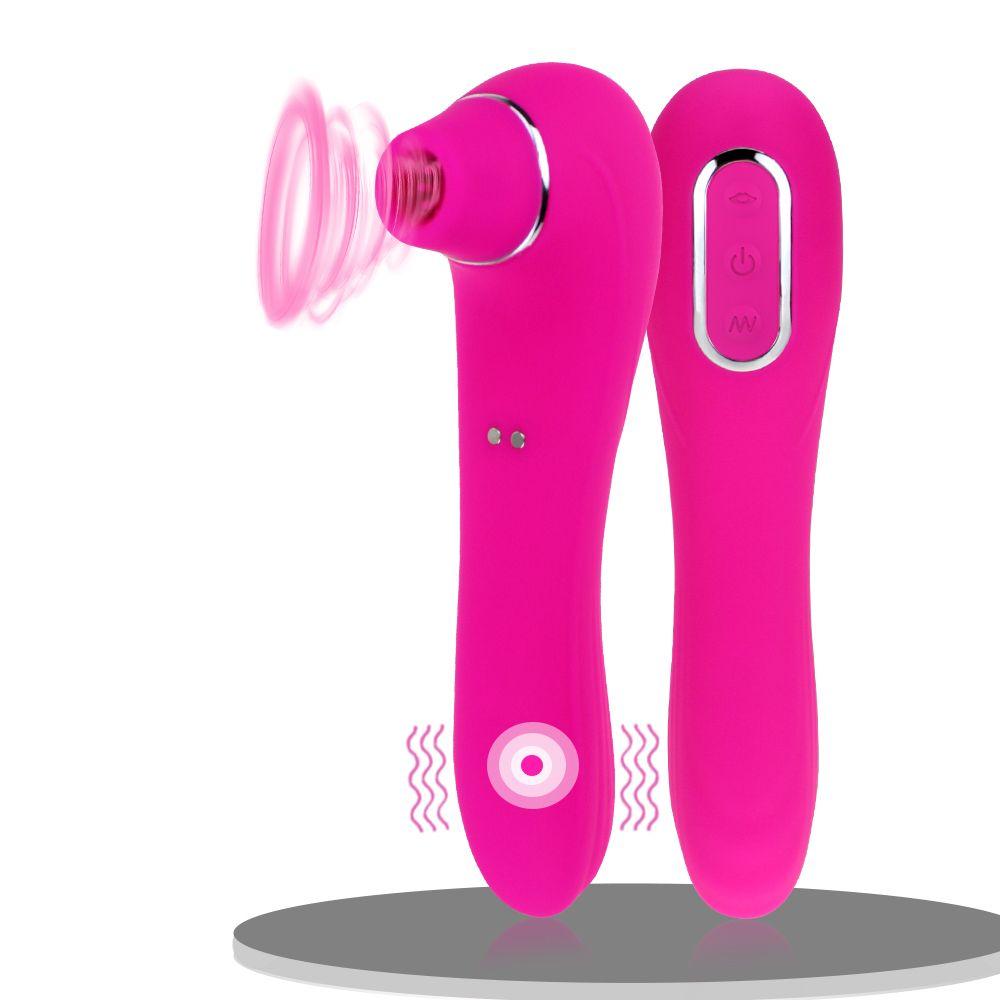 Vagin Lèche Vibrator Sex Toy pour Femme Langue orale soufflant aspiration Clitoris Stimulateur masturbateur érotique Sex Toys pour adultes Y200616