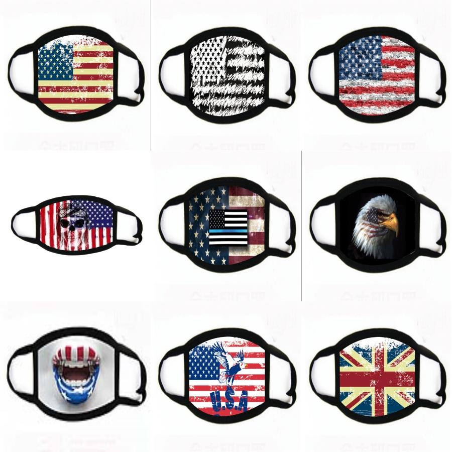 2020 İngiliz Alfabe Baskı Yüz Maskesi Yetişkin Toz Yıkanabilir Tekrar Kullanılabilir Tasarımcı MASKESİ 6 Styles Maske T2I51044 # 822