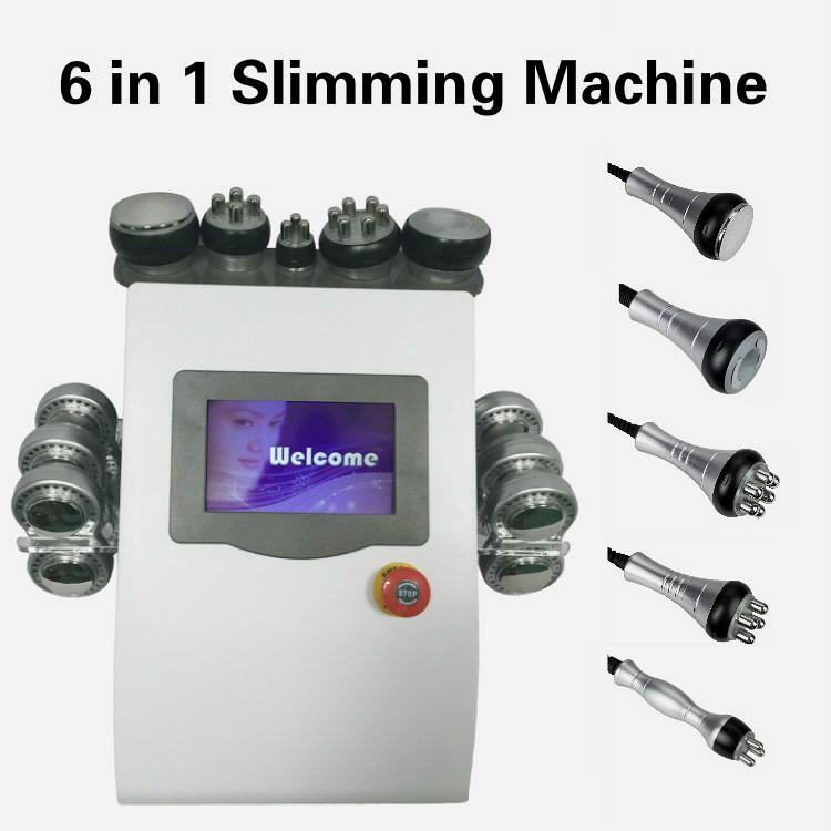 Macchina Pro 6 SME Pad Lipo Fat Laser Remover cavitazione a ultrasuoni Rf dimagrante Body Massage per Spa