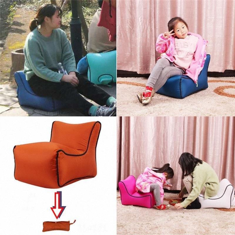 Sofá inflável Air Lounger preguiçoso Couch Chair Sofá sacos de festa ao ar livre Camping Viagem Outdoor Móveis Jardim 4j20 tKTp #