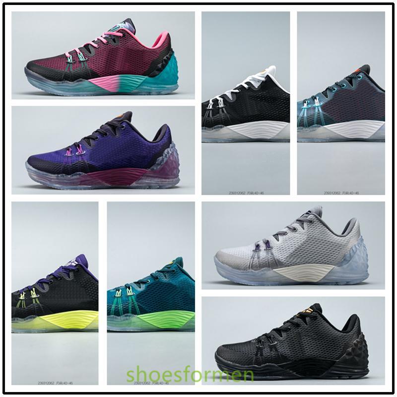 Nike Zoom Kobe Venomenon 5 بيع الساخن رجل إمرأة ذات نوعية جيدة أحذية كرة السلة مامبا 5 V تكبير 5 Protro المرحلة الكبير ليكرز مامبا 2K في الهواء الطلق حذاء رياضة size40-46