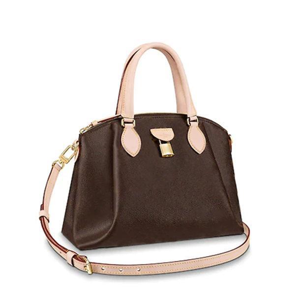 2020 الأزياء أعلى جودة مصمم الأزياء Rivolii PM Momogran حقائب الكتف قماش امرأة حقائب ريفولي MM حقيبة اليد، مع غبار حقيبة M44543