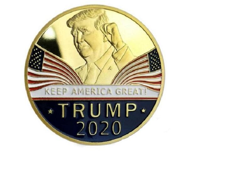 Konuşma Hatıra Koleksiyon paralar El Trump Amerika Büyük BWE416 tutun