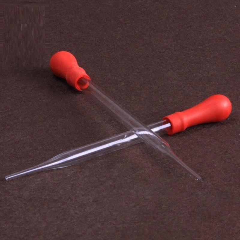Wholesale- Hochwertige Glasgummikopf Tropfer Sauger ätherisches Öl Dropper Verschiffen frei GIdU #