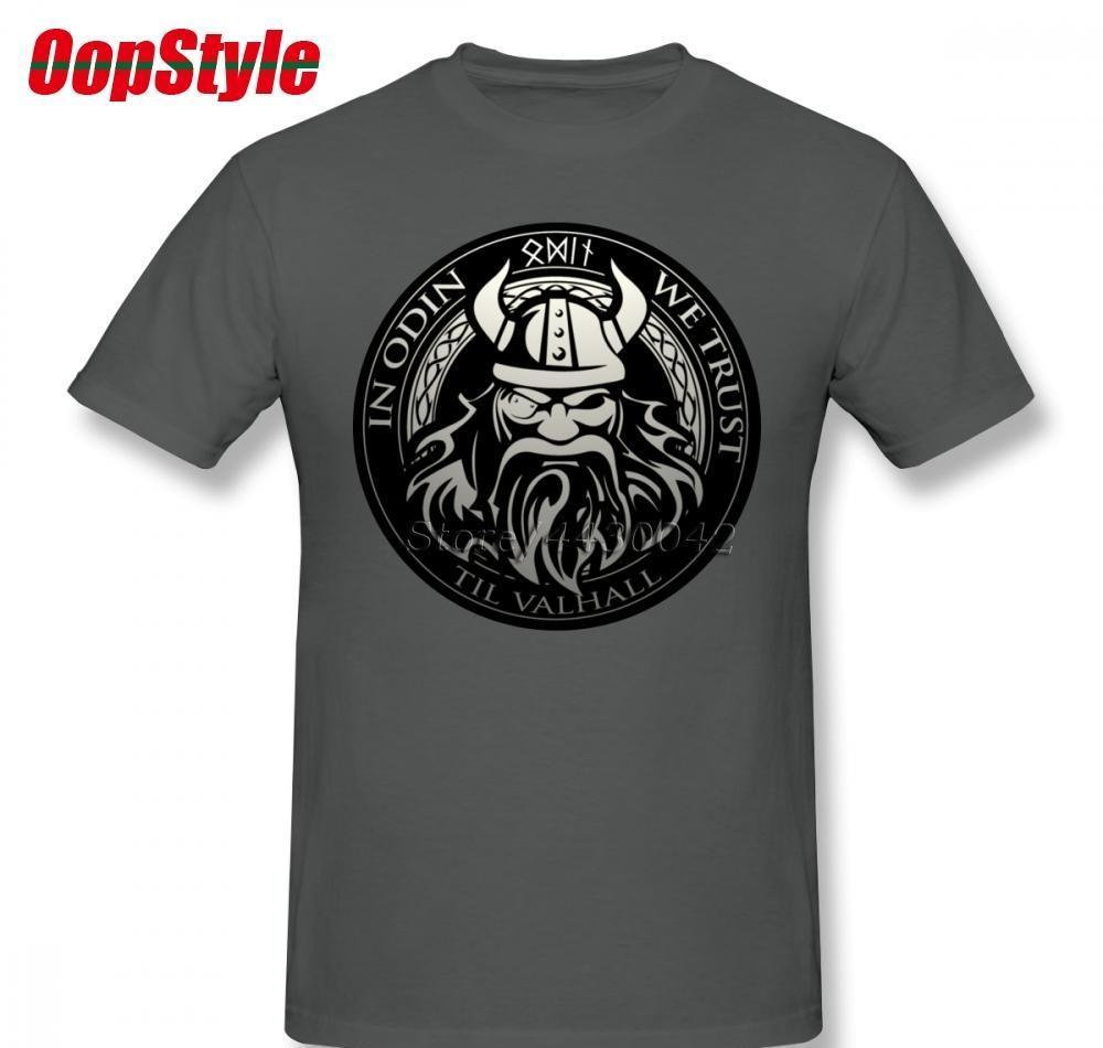 Filhos do t-shirt Valhalla Odin Para Homens Plus Size equipe Cotton camiseta 4XL 5XL 6XL Camiseta5952