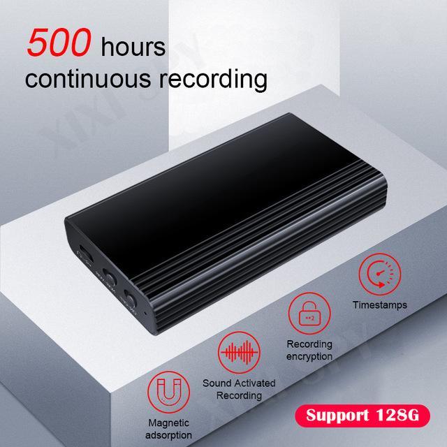 ortable 오디오 비디오 디지털 보이스 레코더 XIXI 스파이 음성 레코더 딕 터폰 펜 오디오 사운드 미니 디지털 직업을 활성화 500hours ...