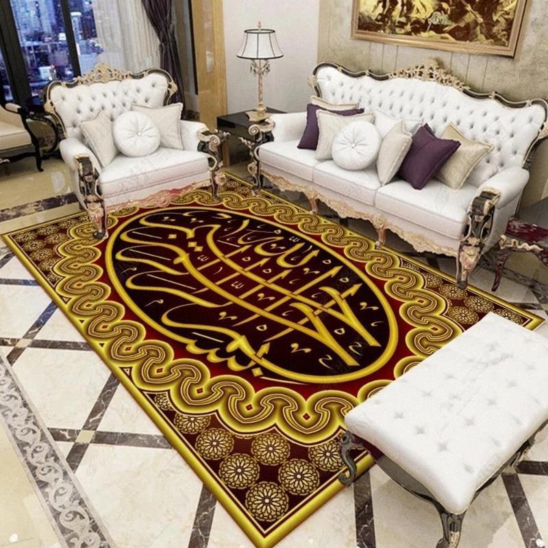 Persa de lujo del estilo 3D Alfombras impreso para la sala de estar dormitorio Alfombras hogar moderno Pasillo alfombra de la sala de juegos para niños Carpa Mat f3lx #