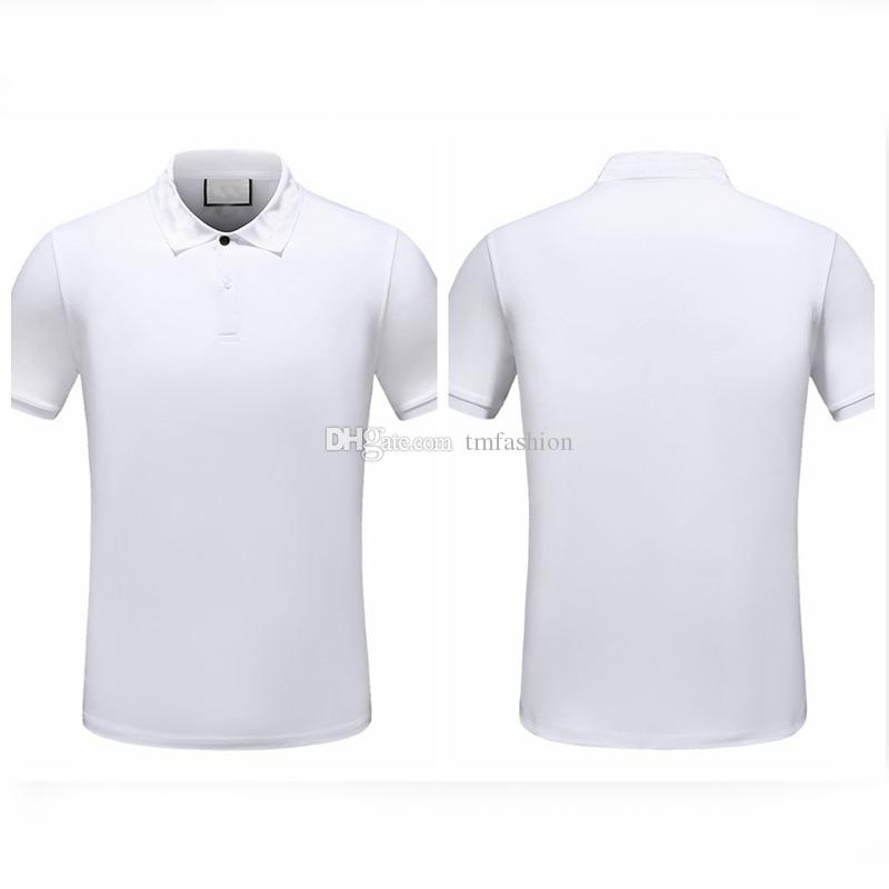 Printemps Homme Tee T-shirt Polos Rue Serpents Broderie Impression Vêtements Hommes Polos