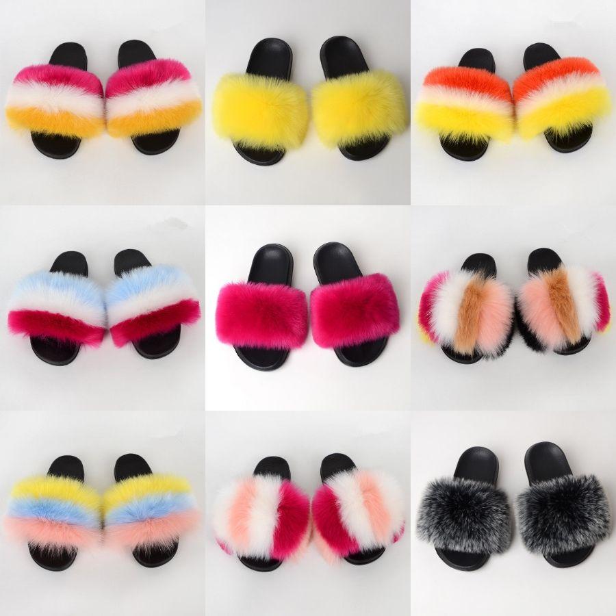 Hot Sale Shine Diamond Ro Style Beach Wo Cute 2 Colors Diamond Flat Slipper Beach Shoes Outdoor Sandals Slippers Shoes#864