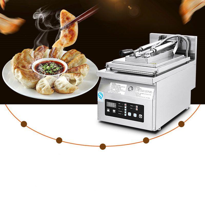 chaud complètement automatique Steak / Boulette Friture machine PT-06A 3K commerciale Frying Pan plein automatique Alimentation linge Cuisinière Frying