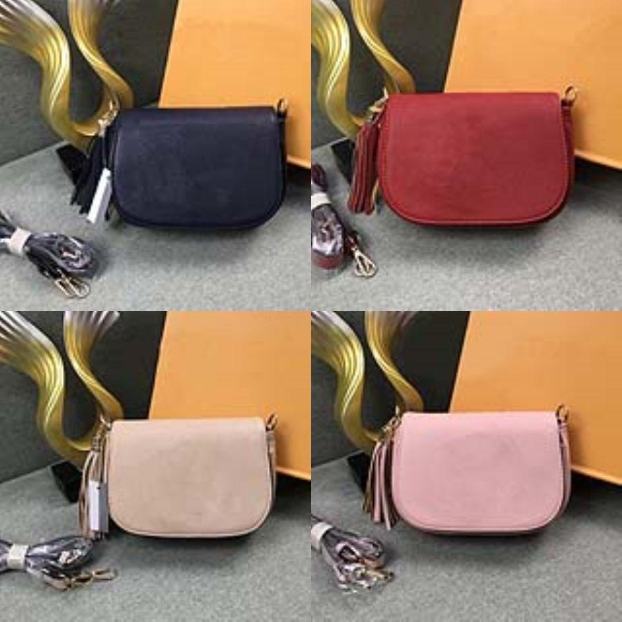 Moda Donna Borsa a tracolla Pu semicerchio borsa semplice Casual Messenger Bags # 668
