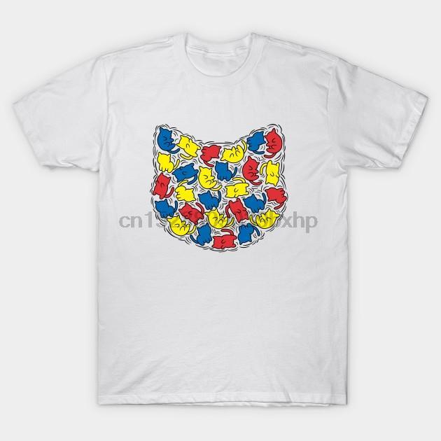 Männer Kurzarm T-Shirt Kitty Haring Moderne T-Shirt (1) Frauen T-Shirt